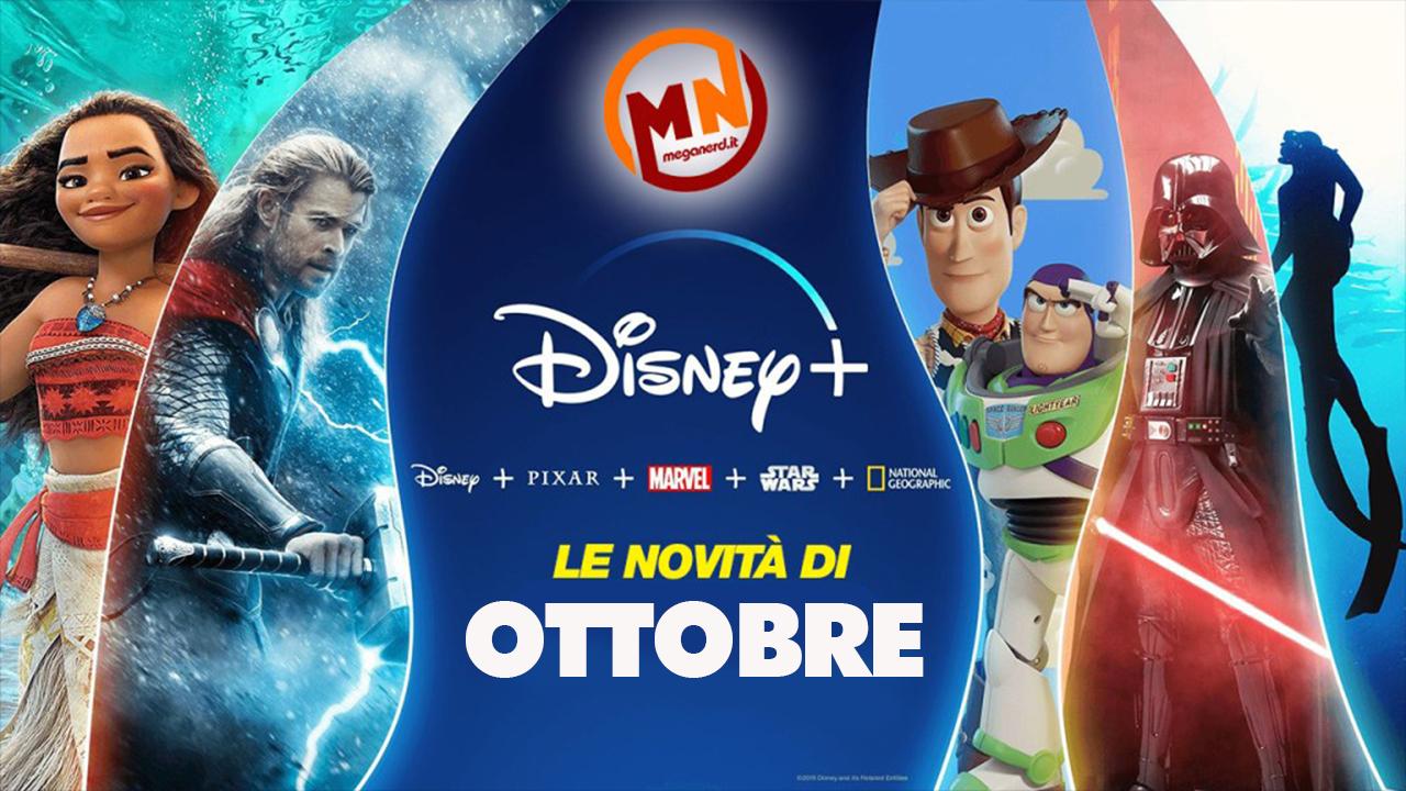 Disney+ – Tutte le novità di ottobre 2021