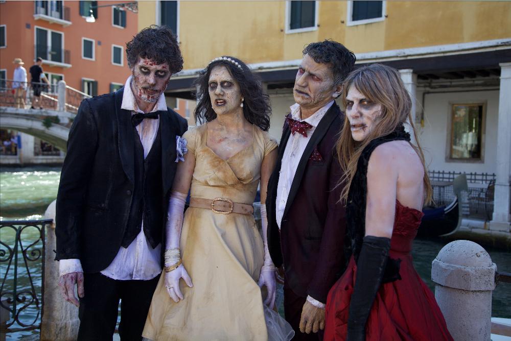 The Walking Dead – Il video dell'invasione zombie al Festival di Venezia