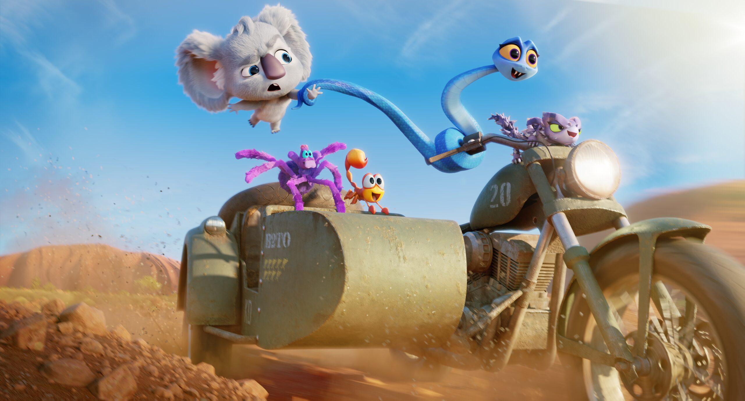 Netflix rilascia trailer e poster per Back to the Outback – Ritorno alla natura