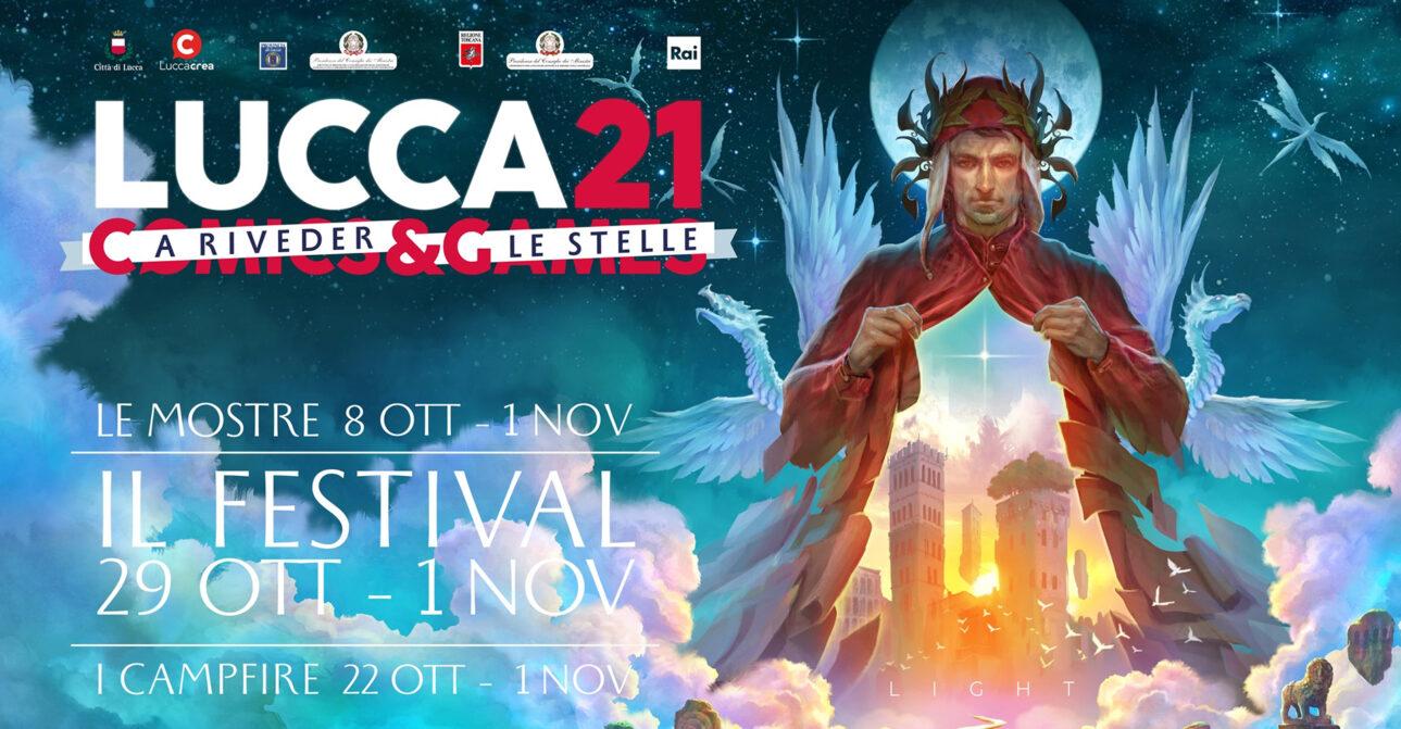 Lucca Comics & Games 2021 risponde sulla Self Area