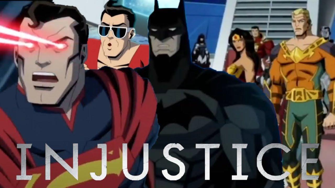 Injustice – Trailer e Anticipazioni del nuovo film animato DC