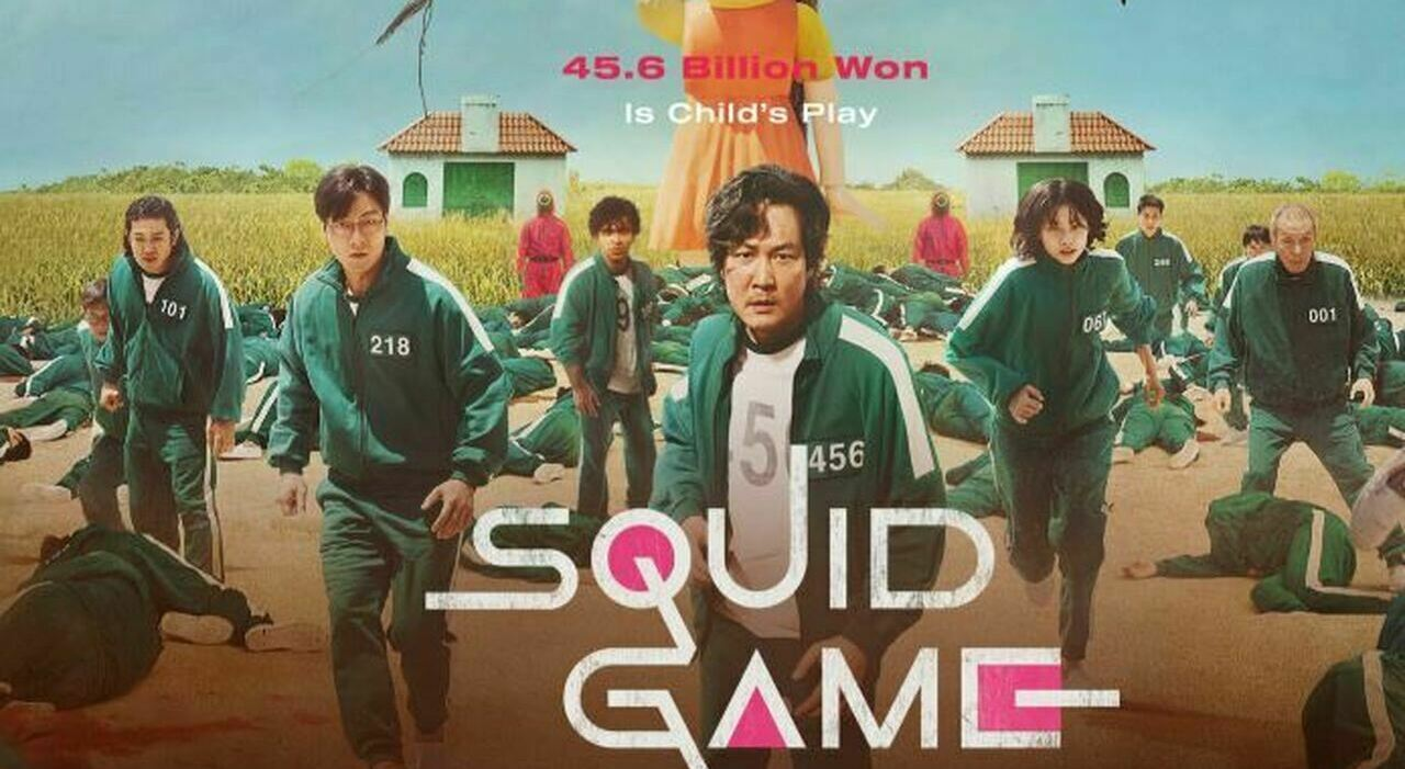 Squid Game diventa la serie più vista su Netflix al suo debutto